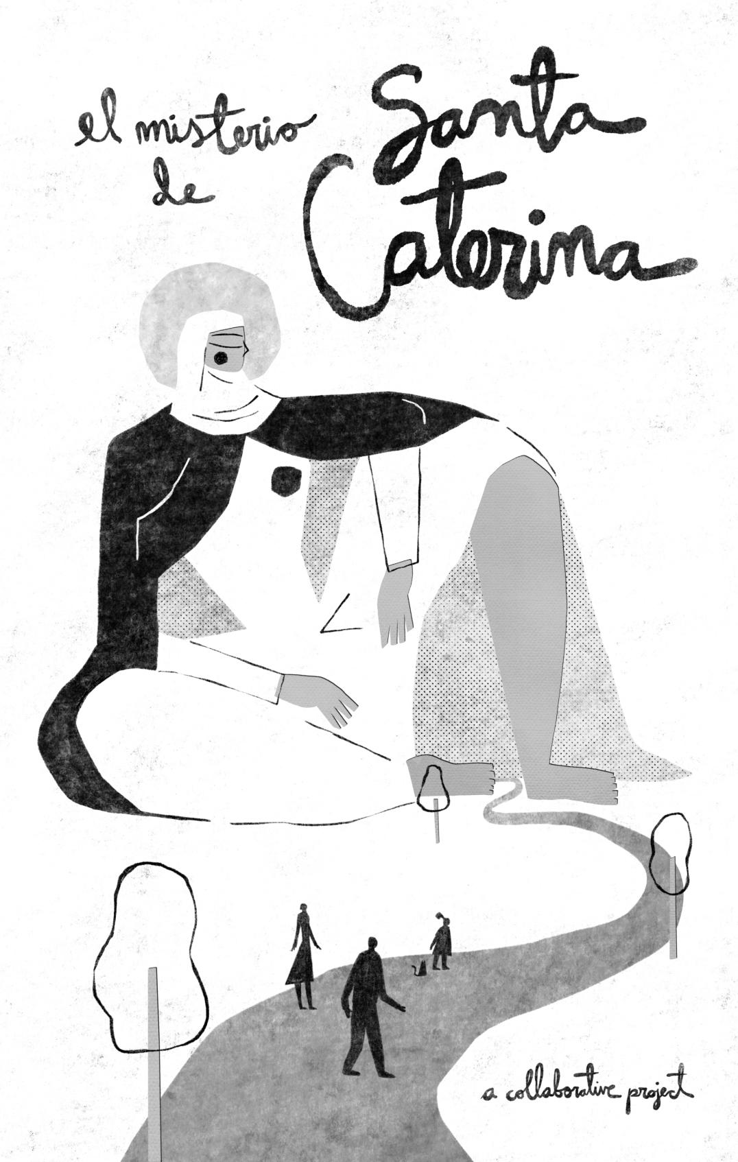 Cover art_El Misterio de Santa Caterina_AA.VV_by Fernando Cobelo